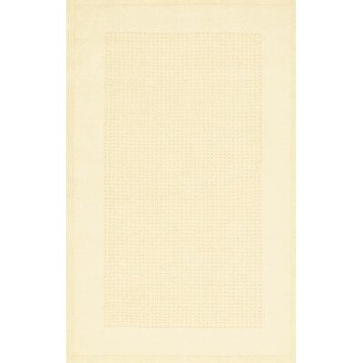 Aspasia Hand-Tufted Ivory Area Rug Rug Size: Rectangle 5 x 8