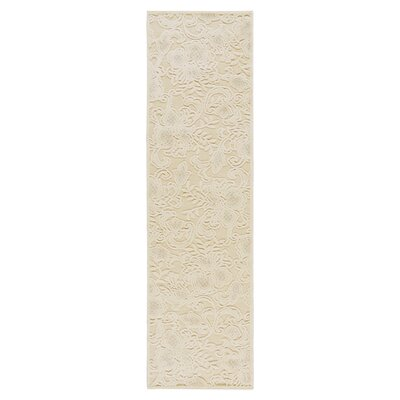 Christena Cream Area Rug Rug Size: Runner 23 x 8