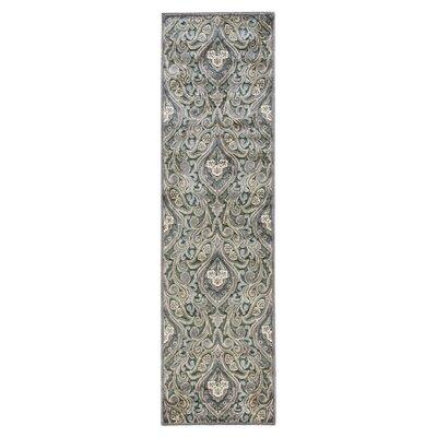 Ruckus Floral Area Rug Rug Size: Runner 23 x 8
