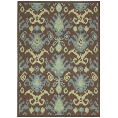 Appian Chocolate Area Rug Rug Size: Rectangle 4 x 6