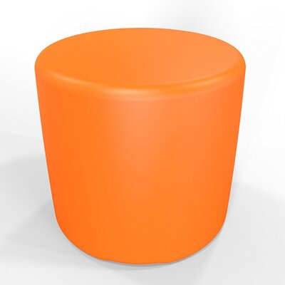 Circle 13.5 H Firm Ottoman Finish: Pure Orange