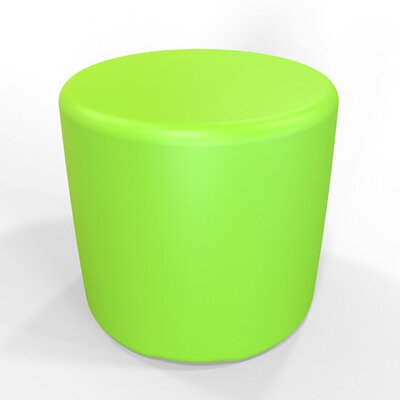 Circle 13.5 H Firm Ottoman Finish: Lime Green