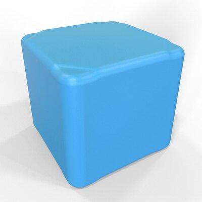 Cube 16.5 H Firm Ottoman Finish: Light Blue