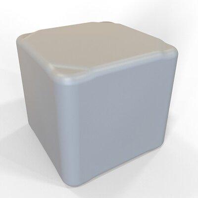 Cube 13.5 H Firm Ottoman Finish: Light Gray