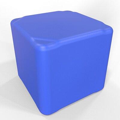 Cube 16.5 H Firm Ottoman Finish: Traffic Blue