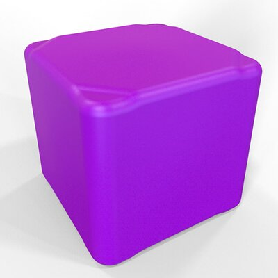 Cube 13.5 H Firm Ottoman Finish: Signal Violet