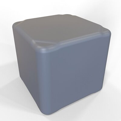 Cube 13.5 H Firm Ottoman Finish: Anthracite Gray