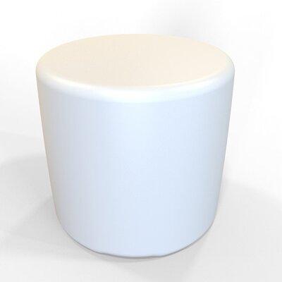 Circle 13.5 H Firm Ottoman Finish: Pure White