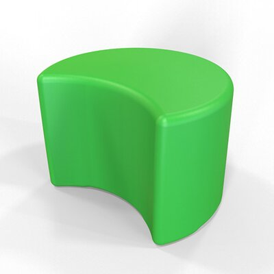 Circ Firm Ottoman Finish: Pure Green