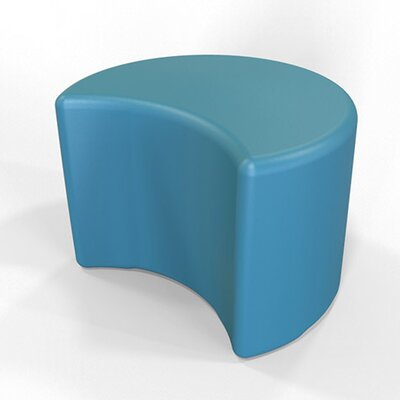 Circ Firm Ottoman Finish: Gentian Blue