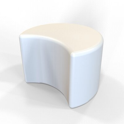 Circ Firm Ottoman Finish: Pure White