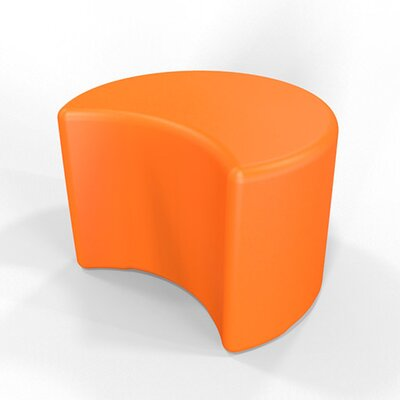Circ 13.5 H Firm Ottoman Finish: Pure Orange