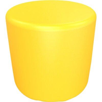 Circle 16.5 H Firm Ottoman Finish: Signal Yellow