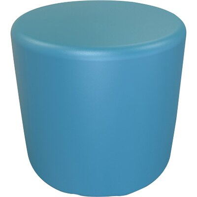Circle 16.5 H Firm Ottoman Finish: Gentian Blue