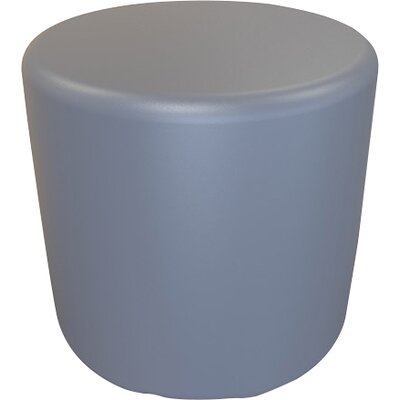 Circle 16.5 H Firm Ottoman Finish: Anthracite Gray