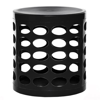 Storage Ottoman Finish: Black