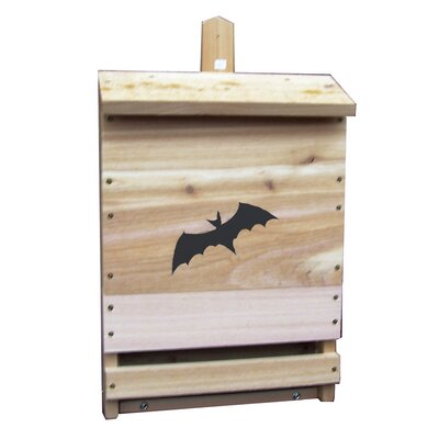 Single Cell Mounted Bat House