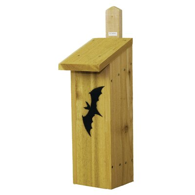 Bachelor Dwelling Nest Box 20 in x 8 in x 6.5 in Bat House