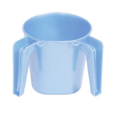 Small Plastic Wash Cup Color: Light Blue ba156-light blue