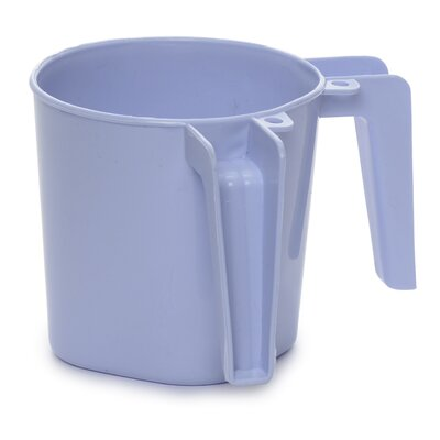 Small Plastic Wash Cup Color: Purple ba156purple