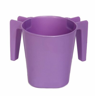 Plastic Wash Cup Color: Purple ba154purple