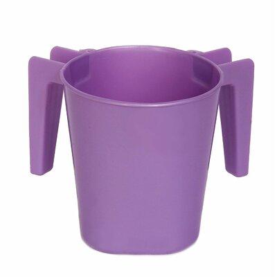 Plastic Wash Cup Color: Purple ba154purple
