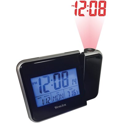 Digital LCD Projection Alarm Tabletop Clock