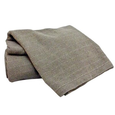 Marc Thee Home Cotton Weave Blanke Color: Graphite, Size: Throw