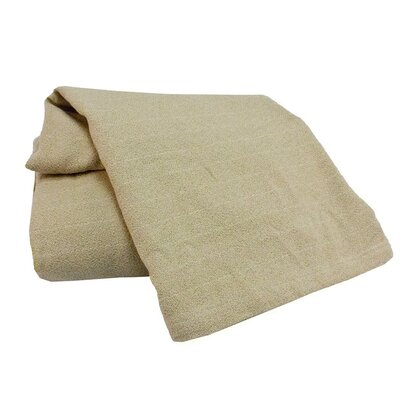 Marc Thee Home Cotton Weave Blanke Size: Throw, Color: Pumice