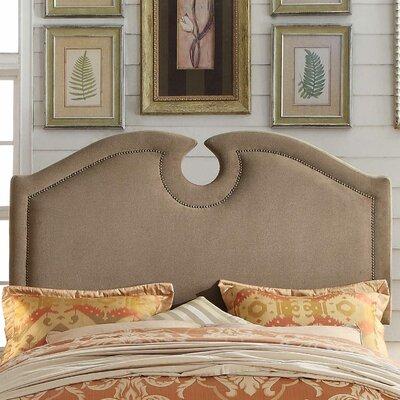 Eilo Queen Upholstered Panel Headboard Upholstery: Mocha