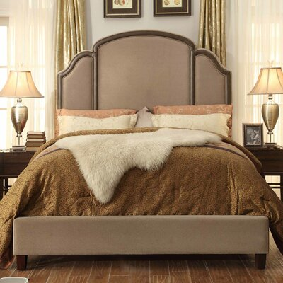 Ricca Queen Upholstered Panel Bed