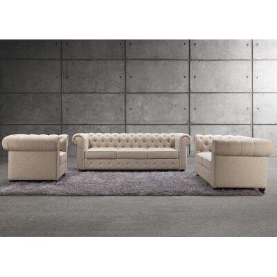 Garcia 3 Piece Living Room Set