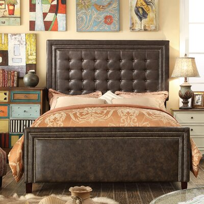 Hidalgo Queen Upholstered Panel Bed