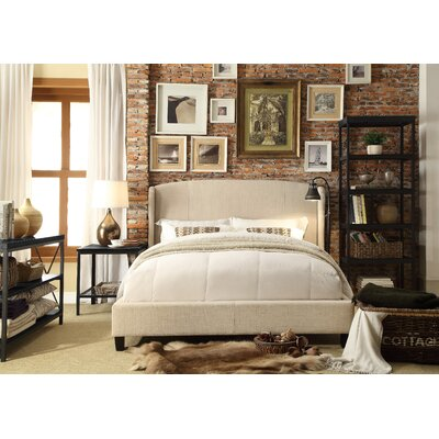 Arzola Queen Upholstered Platform Bed