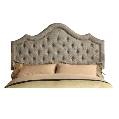 Wick, Somerset Queen Upholstered Panel Headboard Upholstery: Gary