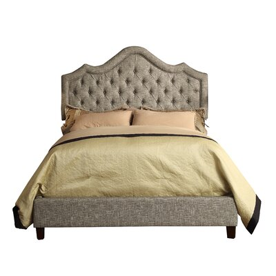 Alisa Queen Upholstered Panel Bed