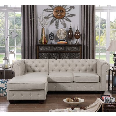 Garcia Sectional Color: Beige