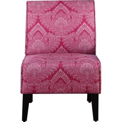 Dafane Slipper Chair Upholstery: Rose
