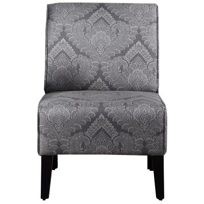 Dafane Slipper Chair Upholstery: Gray