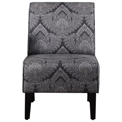Dafane Slipper Chair Upholstery: Charcoal