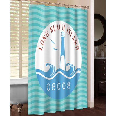 Long Beach Island Shower Curtain