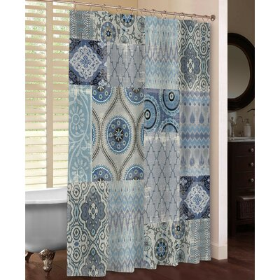 Persian Patchwork Shower Curtain