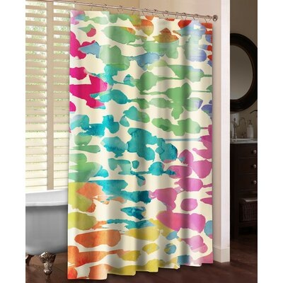 Splashes of Color Shower Curtain