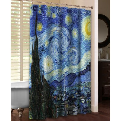 Vincent Van Goghs Starry Night Shower Curtain