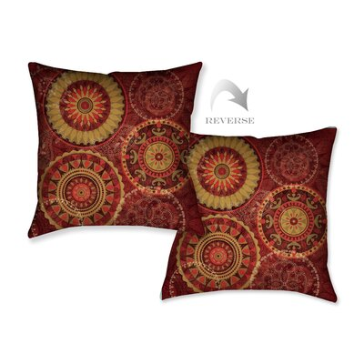 Majestic II Throw Pillow