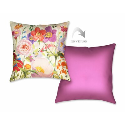 Couleur Printempts II Throw Pillow