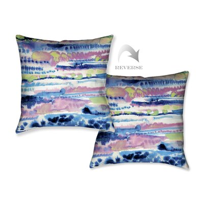 Silky Designs Throw Pillow