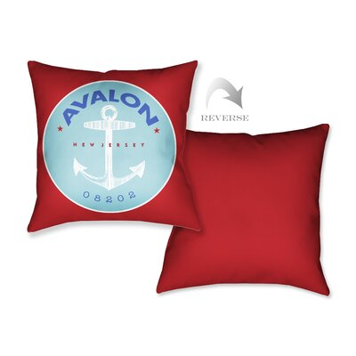 Avalon II Throw Pillow