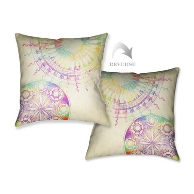 Coastal Patterns Throw Pillow