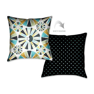 Sunshine and Moonshine Throw Pillow